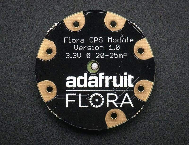 Flora Wearable Ultimate Gps Module (Id: 1059) - Gps