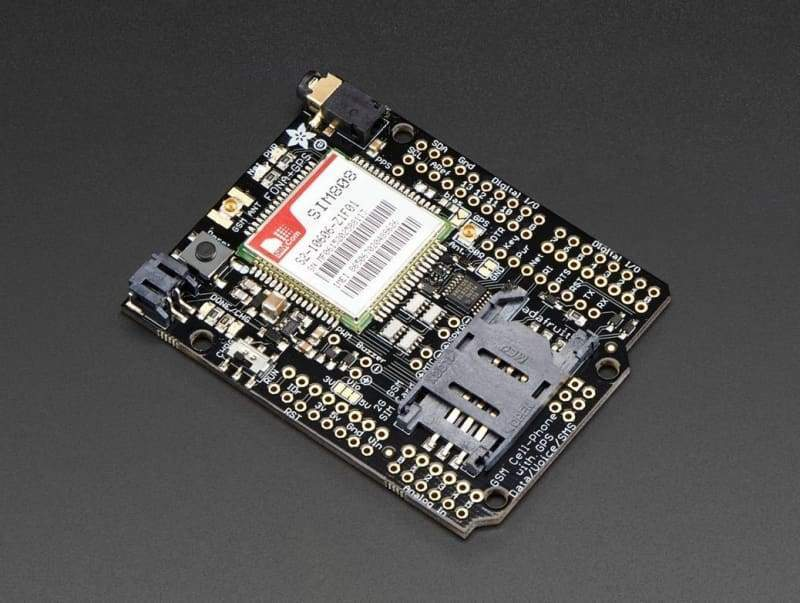 Fona 808 Shield - Mini Cellular Gsm + Gps For Arduino (Id: 2636) - Gprs Cellular