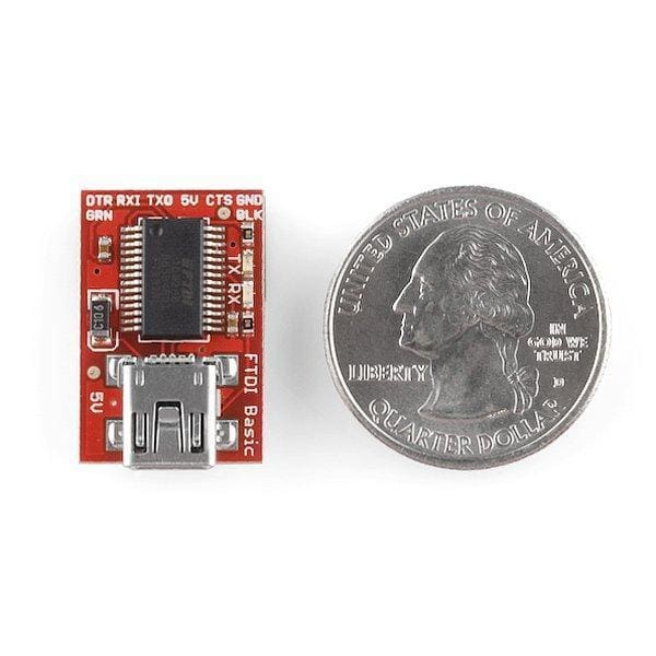Ftdi Basic Breakout - 5V (Dev-09716) - Prototyping
