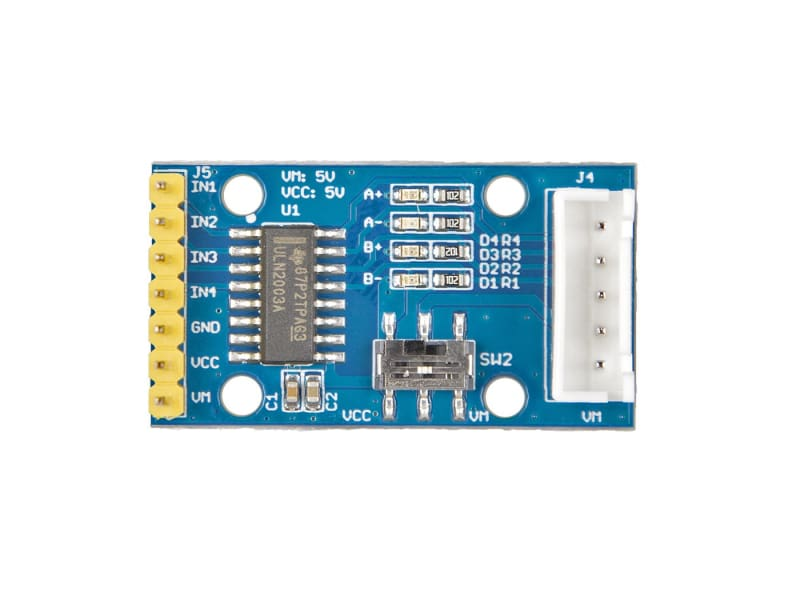 Gear Stepper Motor Driver Pack - Motors