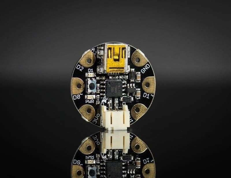 Gemma V2- Miniature Wearable Electronic Platform (Id: 1222) - Flora