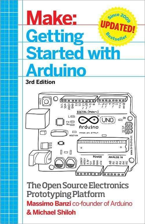 Getting Started With Arduino Book (Paperback) (3Rd Edition) - Books