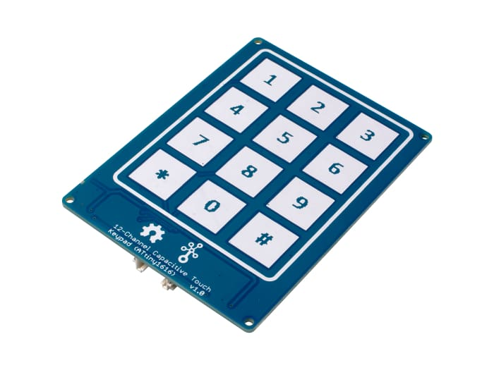 Grove - 12-Channel Capacitive Touch Keypad (ATtiny1616) - Buttons