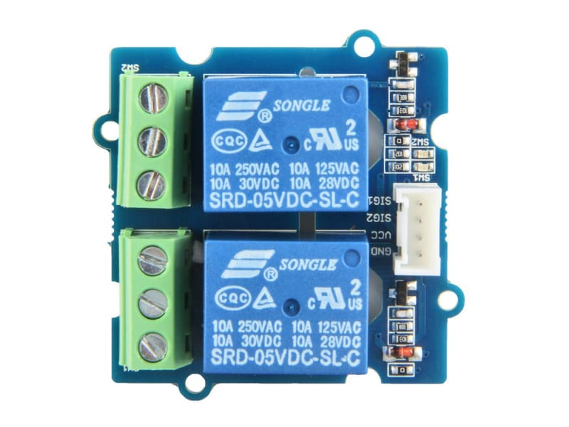 Grove - 2-Channel Spdt Relay - Grove