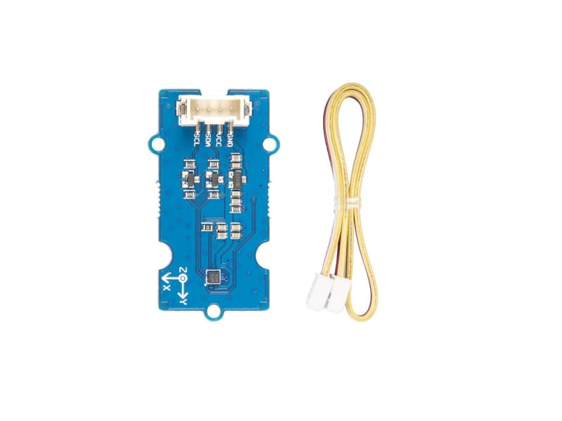 Grove - 3-Axis Digital Accelerometer ±16G Ultra-Low Power (Bma400) - Grove