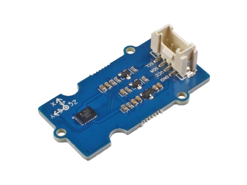 Grove - 6-Axis Accelerometer & Gyroscope (Bmi088) - Acceleration