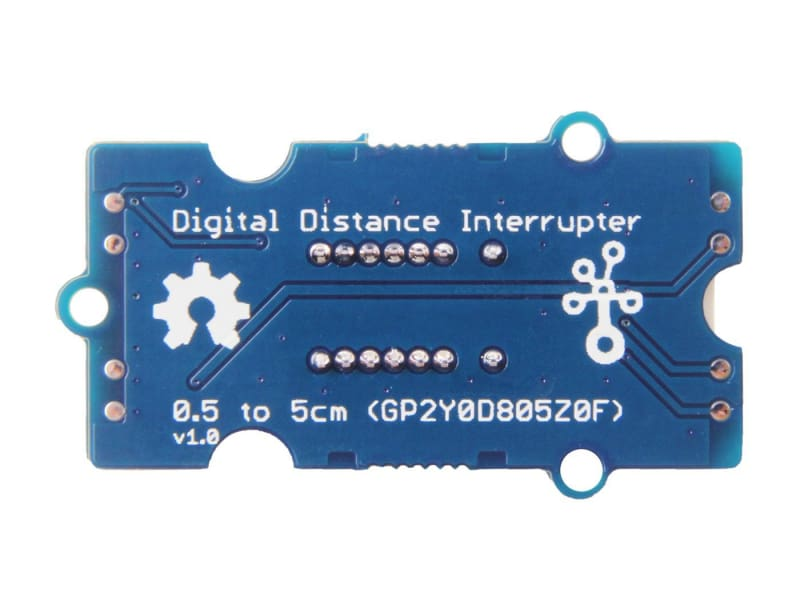 Grove - Digital Distance Interrupter 0.5 To 5Cm(Gp2Y0D805Z0F) - Grove