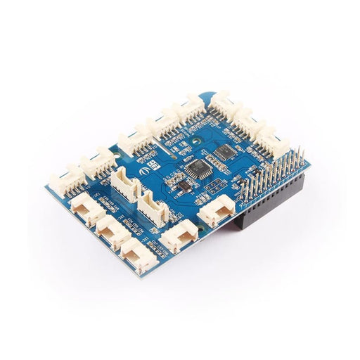 Grovepi+ - Add-On Board With 15 Grove 4-Pin Interfaces For Raspberry Pi - Grove