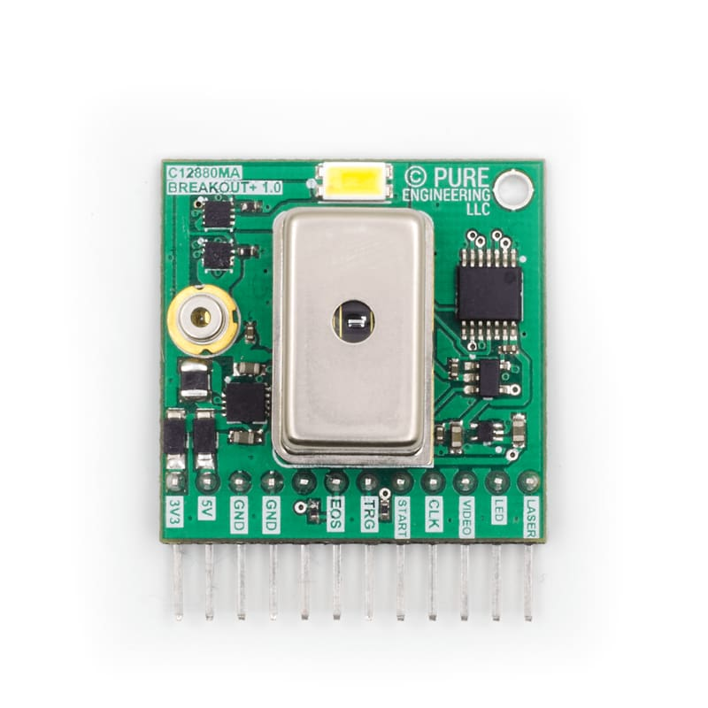 Hamamatsu C12880Ma Mems U-Spectrometer And Breakout Board - Visible Light