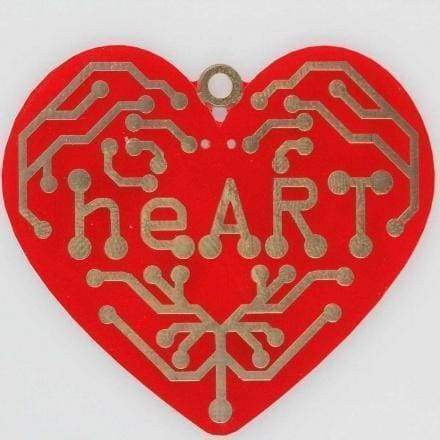 Heart - A Beating Heart Surface Mount Soldering Kit - Soldering