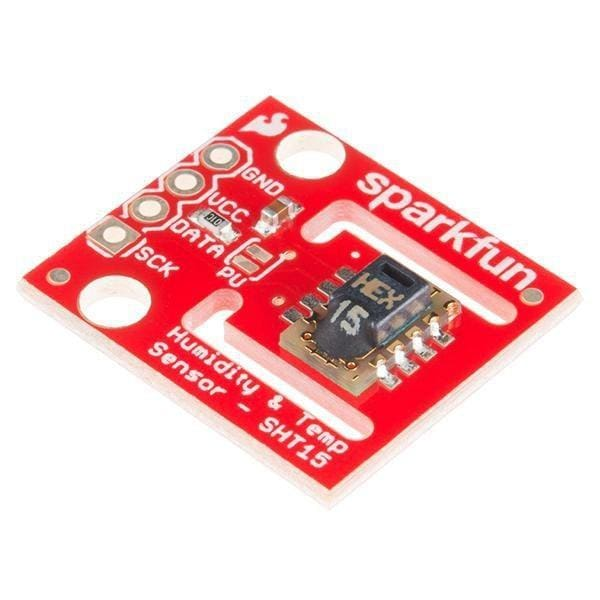 Humidity and Temperature Sensor - SHT15 Breakout (SEN-13683) - Atmospheric