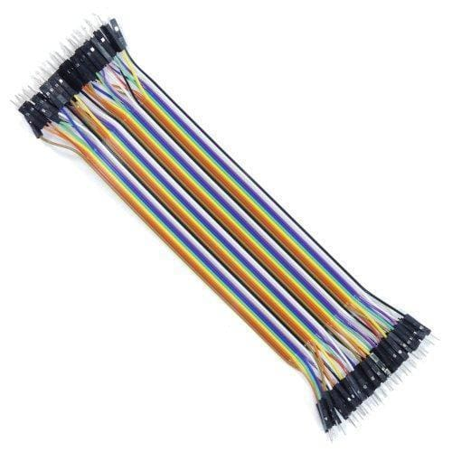Jumper Wire Ribbon Cable - Male To Male - Cables And Adapters
