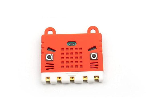 Kittenbot Micro:bit Case - Silicone Sleeve - Red - Micro:bit