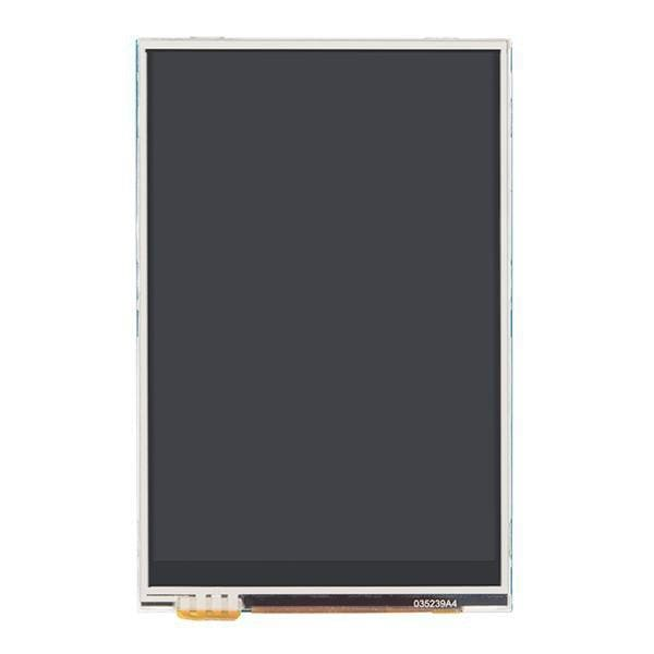 Lcd Touchscreen Hat For Raspberry Pi - Tft 3.5In. (480X320) - Lcd Displays