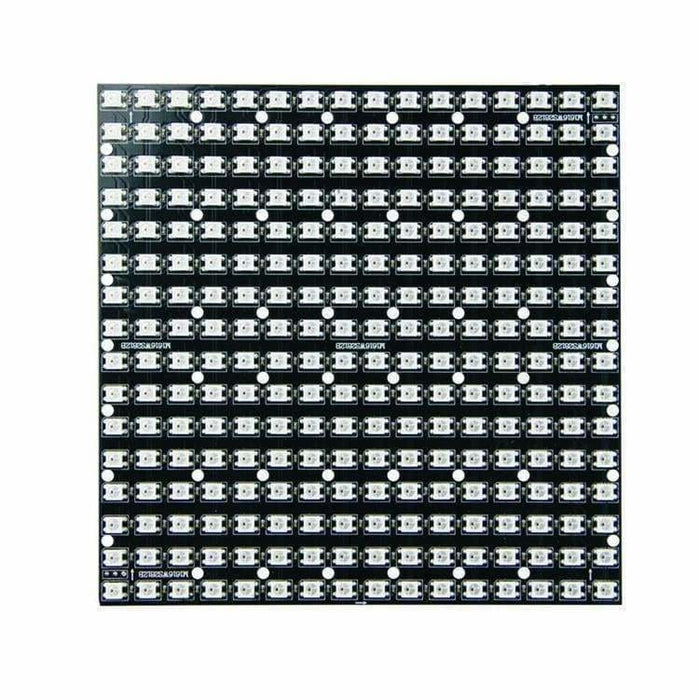 Led Addressable Rigid Matrix - 16X16 - 160Mm X 160Mm - Sk6812 (Adafruit Neopixel Compatible) - Led Displays