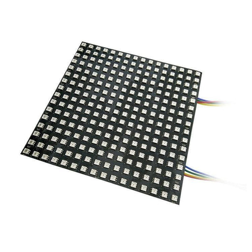 Led Flexible Matrix - 16X16 - 160Mm X 160Mm - Sk9822 (Adafruit Dotstar Compatible) - Led Displays