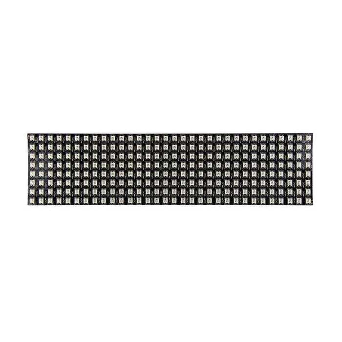 Led Flexible Matrix - 8X32 - 80Mm X 320Mm - Sk6812 (Adafruit Neopixel Compatible) - Led Displays
