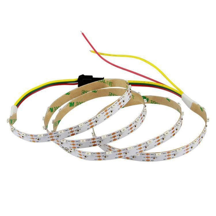 LED Side Light Strip - 1m White PCB (Adafruit NeoPixel compatible) - LEDs