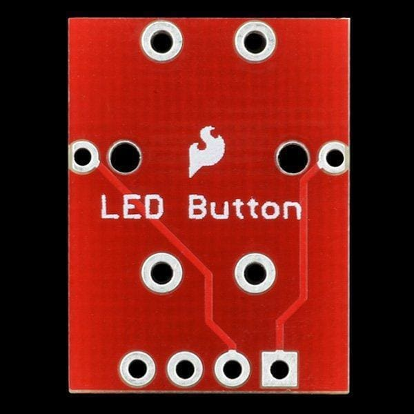 Led Tactile Button Breakout - Leds