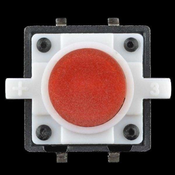 Led Tactile Button - Red (Com-10442) - Leds
