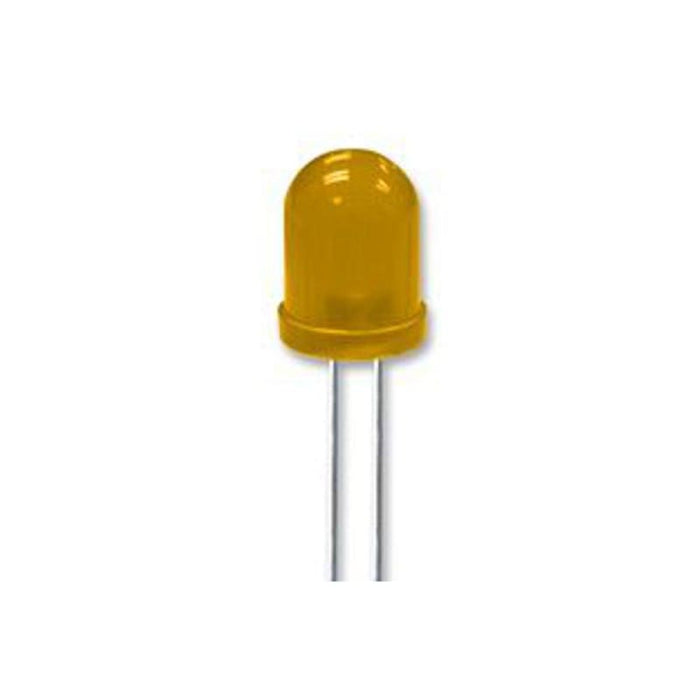 Led Yellow - 10Mm Through-Hole Diffused Lens - Leds