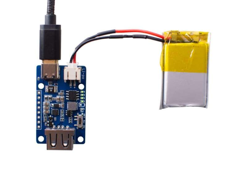 Lipo Rider Plus (Charger/Booster) - 5V/2.4A USB Type C - Component