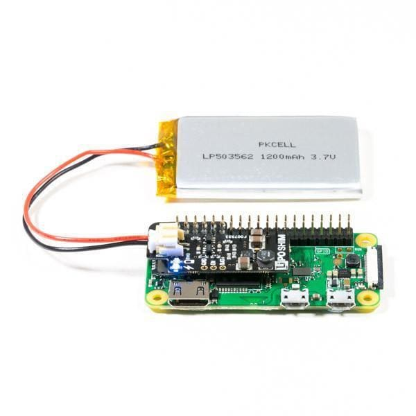 Lipo Shim (Formerly Zero Lipo) For Raspberry Pi (All Models) - Power
