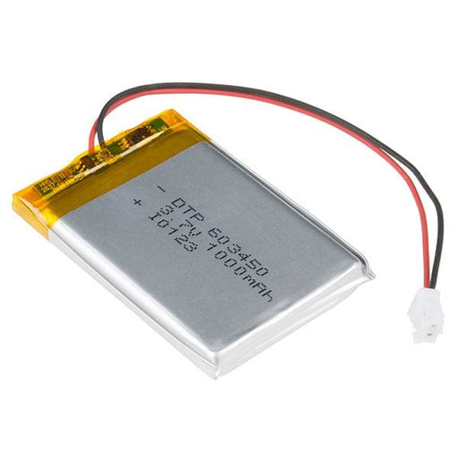 Lithium Polymer Battery - 1000mAh - Batteries