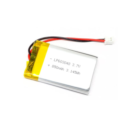 Lithium Ion Polymer Battery - 850mAh - Batteries