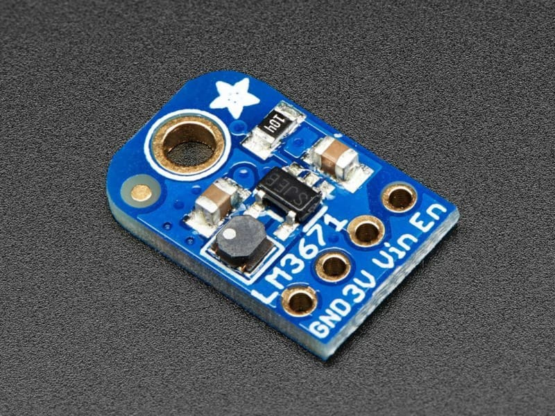 Lm3671 3.3V Buck Converter Breakout (Id: 2745) - Active Components