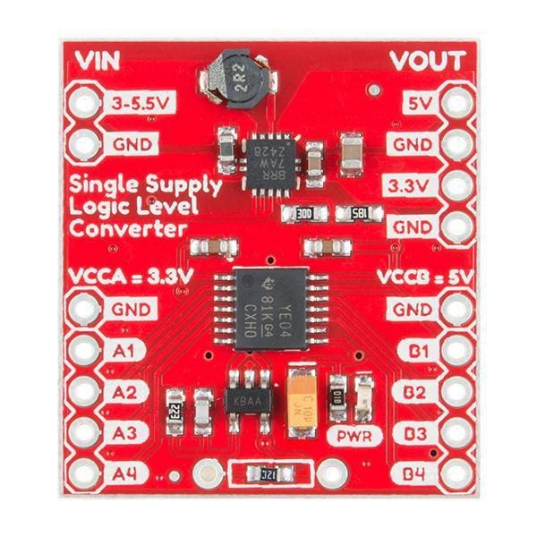 Logic Level Converter - Single Supply (Prt-14765) - Prototyping