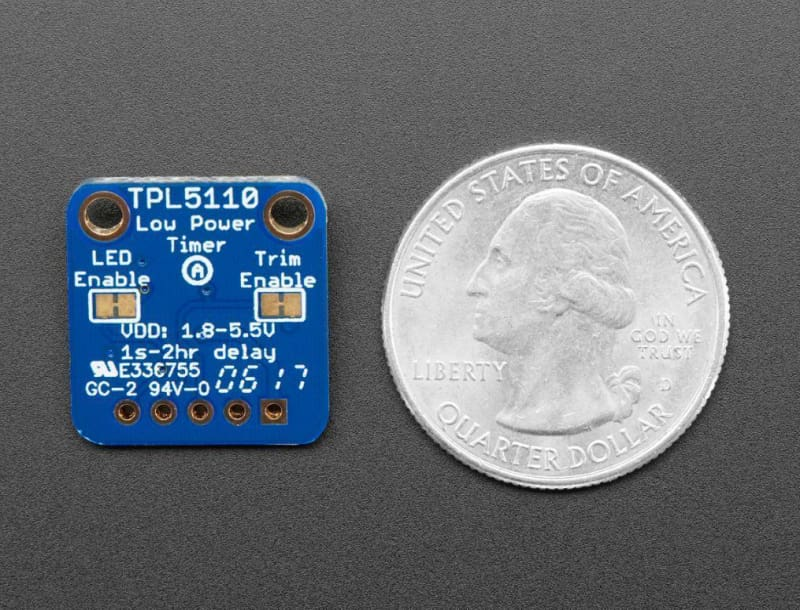 Low Power Timer Breakout Tpl5110 (Id: 3435) - Active Components
