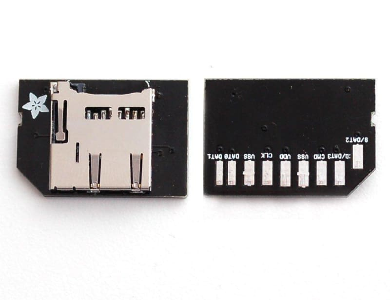 Low-profile MicroSD Card Adapter For Raspberry Pi (ID: 966) - Raspberry Pi