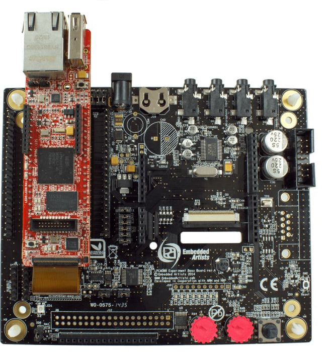 LPC4088 Experiment Base Board - ARM Processor Based