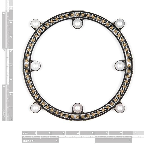 Lumini Led Ring - 3 Inch (60 X Apa102-2020) (Com-14965) - Leds