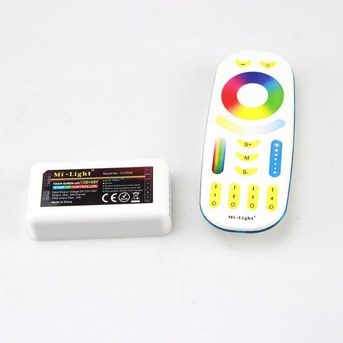 Mi Light Rgb+W+Ww Led Light Trip Controller And Remote - Leds