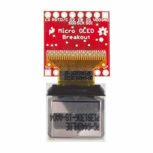 Micro Oled Breakout (Lcd-13003) - Oled Displays