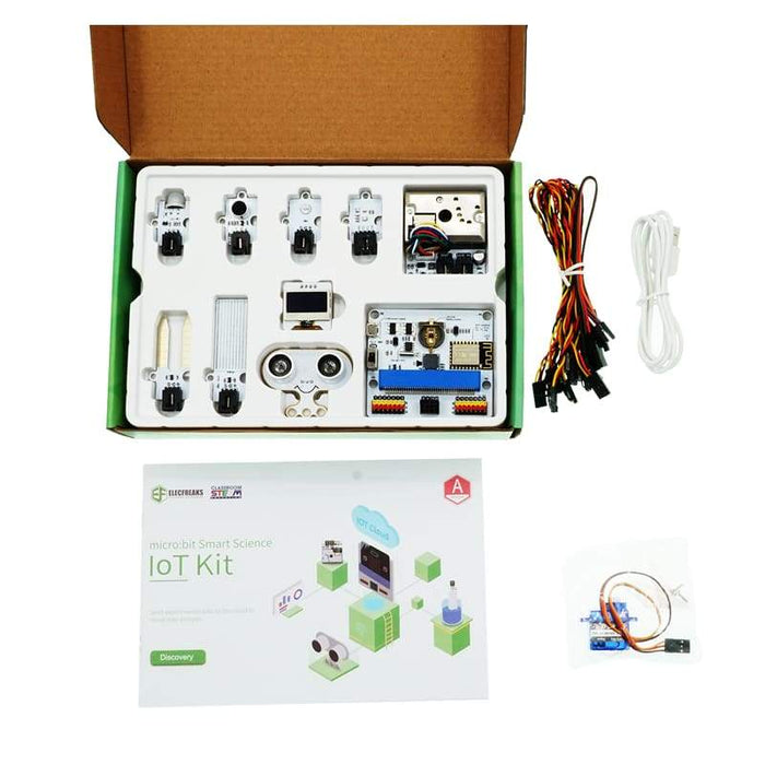 micro:bit Smart Science Internet of Things (IoT) Kit - micro:bit not included - Micro:bit