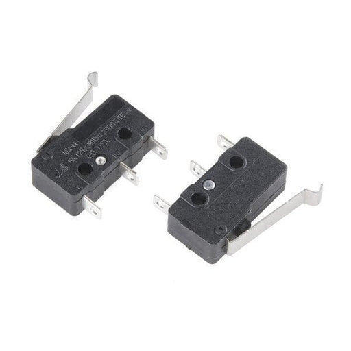 Mini Microswitch - Spdt (Offset Lever 2-Pack) - Switches