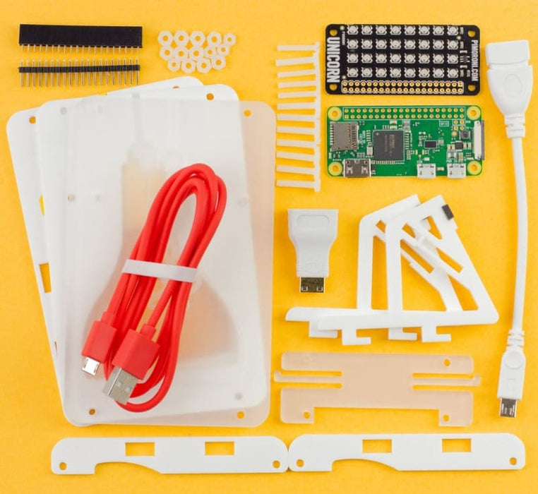 Mood Light - Pi Zero W Project Kit (includes Pi Zero W) - Raspberry Pi Kits