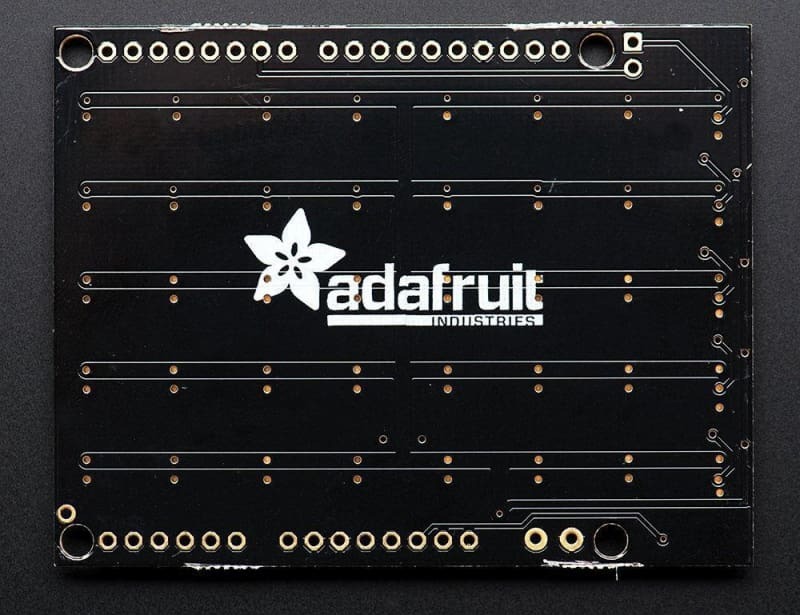 Neopixel Shield For Arduino - 40 Rgb Led Pixel Matrix (Id: 1430) - Leds