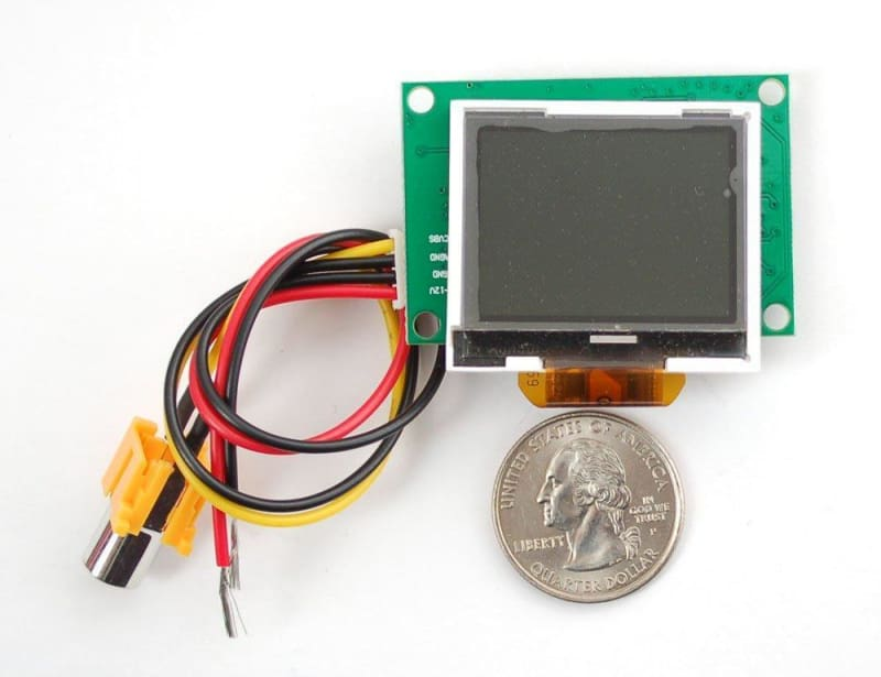 Ntsc/pal (Television) Tft Display - 1.5 Diagonal - Lcd Displays