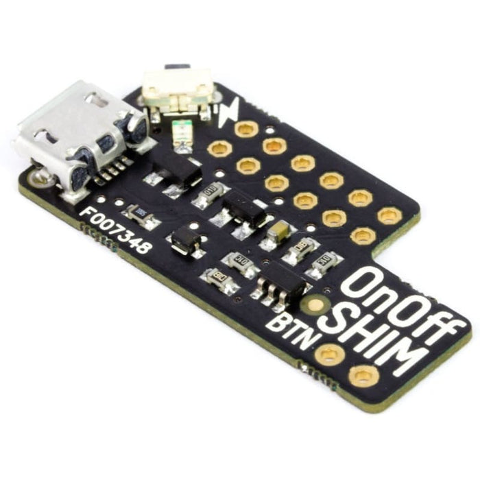 Onoff Shim For Raspberry Pi (All Models) - Power