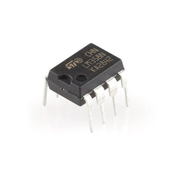 Op-Amp (Thru-Hole) - LM358 - Active Components