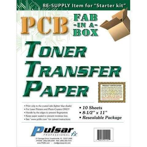 Pcb Toner Transfer Paper - Pcb Fabrication