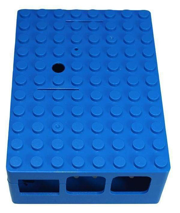 Pi-Blox - Lego® Compatible Case For Raspberry Pi + Pi Camera - Blue - Raspberry Pi Enclosures