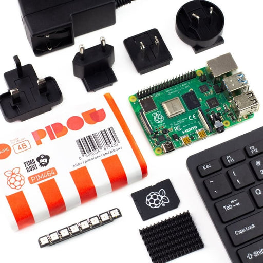Pimoroni Raspberry Pi 4 Starter Kit - Raspberry Pi Kits