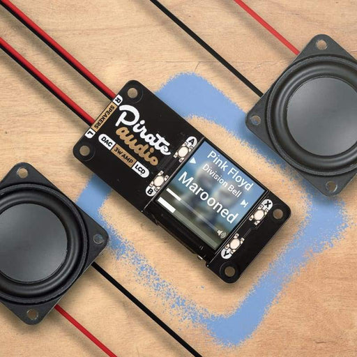 Pirate Audio 3W Stereo Amp for Raspberry Pi - Audio