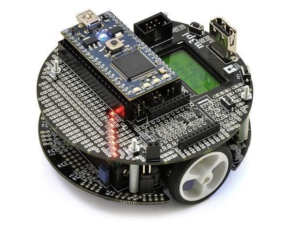 Pololu M3Pi Robot With Mbed Socket - Robot