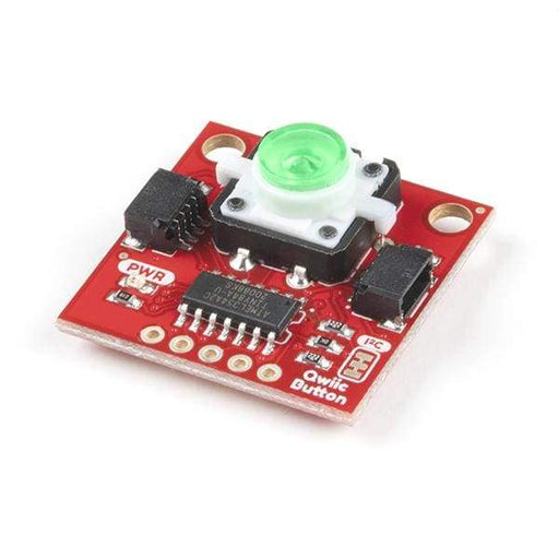 Qwiic Button - Green LED - Component